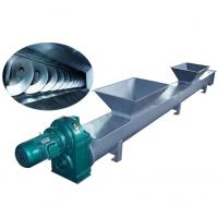 Coal Stainless Steel Auger Shaftless Screw Conveyor , Vertical Screw Elevator
