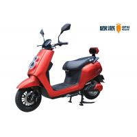 Quality LED Headlight Girls Electric Moped , Electric Scooter For Women DC Brushless Motor for sale