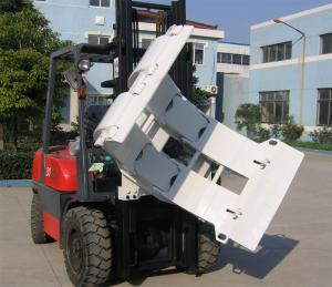 Quality ISO 0.50cu/M Paper Roll Clamp Attachment For Forklift for sale