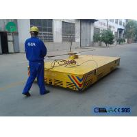 Quality Environmental platform motorized trackless transfer carriage with limit switch for sale