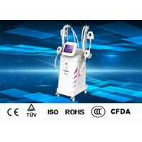 China Vertical Cryolipolysis Slimming Machine For Body Weight Loss 4 Handles Available on sale