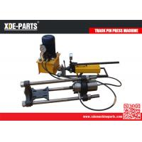 Quality 100/150/200Ton Portable Hydraulic Track Link Pin Pusher Machine For Excavator&Dozer for sale