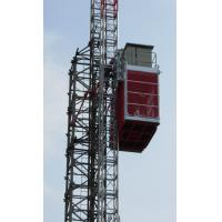 Quality Twin Cage Industrial Lift 3200kg Blue Industrial Lift with Hot Dipped Zinc for sale