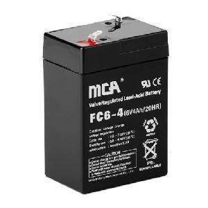 Quality Sealed Lead Acid Battery -6V4AH for sale