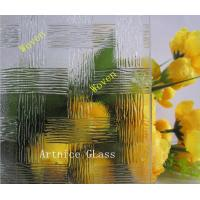 Buy 3mm to 8mm Woven Patterned Glass, Rolled Glass, Figured Glass with Certificate ISO and BV at wholesale prices