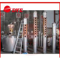 Quality Custom Whiskey / Vodka Commercial Distilling Equipment 3MM Thickness for sale