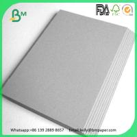China 1.5 - 3.0mm double grey paper mill grey thick cardboard sheets on sale