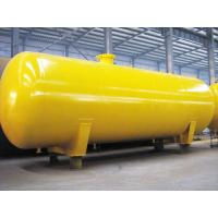 Quality Chemical Storage Pressure Vessel Tanks Q345R For Liquid Ammonia / Industrial for sale