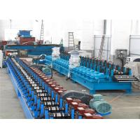 Quality Flying Cutting C Channel Roll Forming Machine , 15-30m/min Channel Rolling Machine for sale