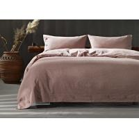 Quality Soft Cotton Bed Sheets 4Pcs Multiple Colors Lightweight Fabric Size Optional for sale