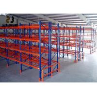 China Maximum 4500kg Per Level Power Coated 2000-6500 Mm Height Racking Uprights on sale