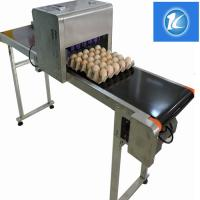High Efficiency Egg Stamping Equipment For Printing Trademarks And Dates for sale