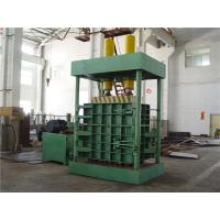 Quality Larger Density 160 Tons Vertical Baler Machine For Carton / Waste Cloth Sacks for sale