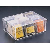 Quality Popular Shape Acrylic  Boxes For Tea Bag for sale