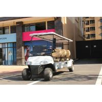Buy 4 Wheel Custom Color 6 Passenger Golf Electric Cart Powered By Lead Acid at wholesale prices