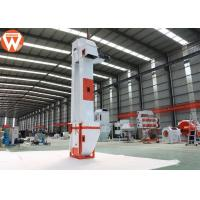 Buy Ribber Fire Proofing Grain Bucket Elevator 2.2-15 Kw For Animal Feed Plant at wholesale prices