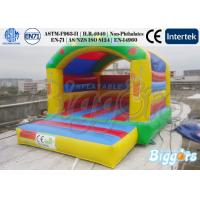 Quality Children Playground Commercial Inflatable Bouncers With Free Air Blower for sale