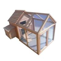 Quality Large wooden chicken coop with long run HF-CC1011 for sale