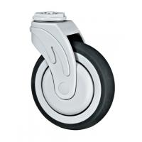 Quality Hospital Nylon Caster Wheels , 5 Inches Medical Nylon Wheels With Bearings for sale