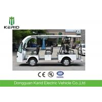 Quality Welded Tubular Steel Chassis 11 seater Electric Sightseeing Car Without Driving Licence for sale