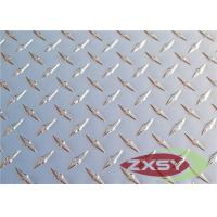 Buy Color Brushed 1 Bar / 2 Bar Aluminum Checkered Sheet For Lighting Plate at wholesale prices