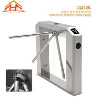 Quality Little Power Access Control Turnstile Barrier Silent Operation Compact Designed for sale