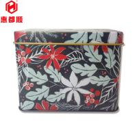 Quality wholesale custom christmas cookie box tin containers with cake tins for sale