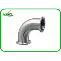 Quality Stainless Steel Sanitary Pipe Fittings Bends Pipe Fitting High Pressure Resistant for sale