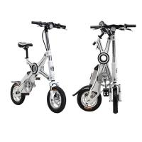 Quality Adult Foldable Electric Scooter , folding electric bike with Pedal and Seat for sale