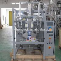 Buy Quad Seal Bag Cat Food / Dog Food / Pet Food Packing Machine With Multi-head Weigher at wholesale prices
