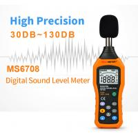 China A and C Characteristics Polarized Capacitive Microphone Digital Sound Level Meter Measurement Range 30-130dB on sale