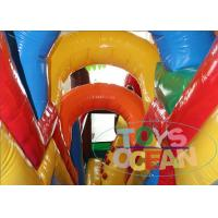 Inflatable Angly Brids Inflatable Bouncer Combo House 2 Years Warranty