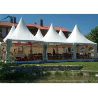 Quality European  Style Pagoda Marquee Tents , Outdoor Wedding Tent 5m By 5m for sale