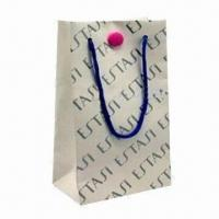 Quality Music Paper Bag, Customized Logos and Colors are Accepted for sale