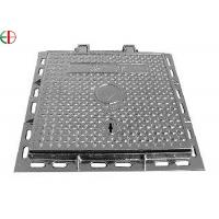 China Cast Iron Sewer Galvanized Steel Manhole Covers EN124 C250 Sanitary Sewer Manhole Cover on sale