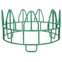 Quality HEAVY OPEN BOTTOM HORSE ROUND BALE FEEDER for sale