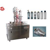 Quality Bag On Valve Aerosol Filling Crimping Equipments For Saline /Seawater Nasal Spray for sale