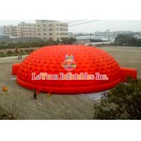 Quality Red Inflatable Dome Tent High Density Oxford Cloth For Events And Meeting for sale