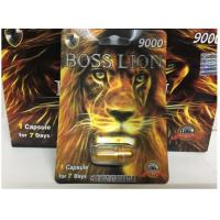 China Boss Lion 9000 herbal strong effect Male Sexual Enhancement Pill Card Type For Stimulate Performance capsules on sale
