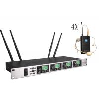 Buy One with four Wireless Meeting Room Microphone System Adopt CPU Control SR-6004 at wholesale prices