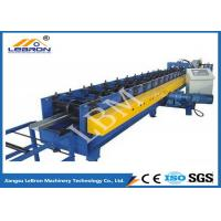 China High Speed C Z Purlin Roll Forming Machine CNC Control 10-15m/min Production Speed on sale