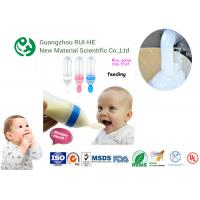 Quality High Transparent Liquid Silicone Rubber For Baby Nipple LSR 6250-50 Shore A 50 High Rebound for sale