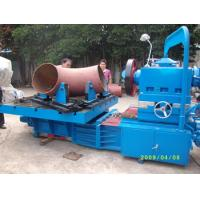 Quality Electric Pipe Beveling Machine , Hydraulic Tee Forming Machine Processing Size 12-24 for sale