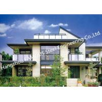 Quality Prefabricated Luxury Light Weight Customized Pre-Engineered Building Steel Villa House for sale