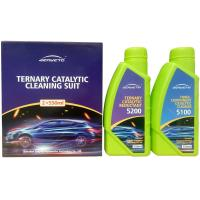 Quality Three Way Auto Catalytic Converter Cleaner Two Bottles Chemical Cleaning for sale