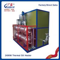 Quality explosion proofing CE thermal oil heating system for sale