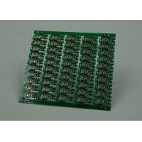 Buy Double Sided Prototype PCB Fabrication Gold Plating Finish Green Solder at wholesale prices