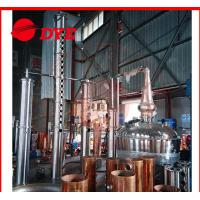Quality Micro Vodka Commercial Distilling Equipment With Themometer for sale
