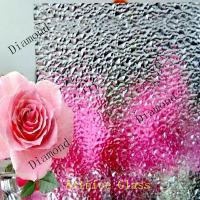 Buy 3mm to 8mm Diamond Patterned Glass, Rolled Glass, Figured Glass with Certificate at wholesale prices