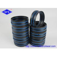Quality Black Blue Hydraulic Piston Seals , Double Acting Piston Seal 80*60*35.1mm Size for sale